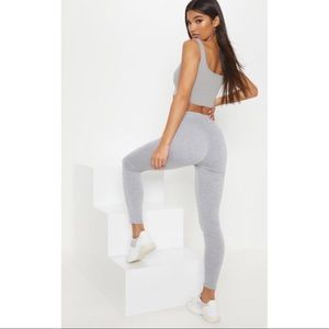 PRETTYLITTLETHING ruched back jersey leggings